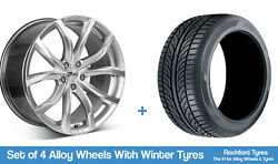 Zito Winter Alloy Wheels And Snow Tyres 19 For Ford C-max [mk1] 03-10