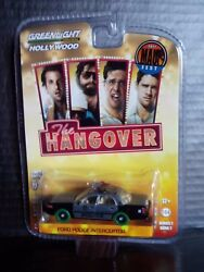 Greenlight The Hangover Police Car 1 Of 48 Raw Super Green Machine 1/64 Diecast