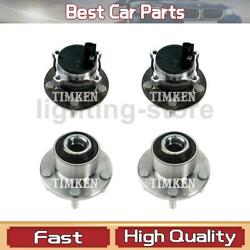 Front Rear Wheel Bearing And Hub Assembly Timken Fit Volvo 2004-2013 4 Pcs