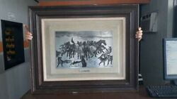 Exquisite Western Art - Broncos And Timber Wolves By Remington
