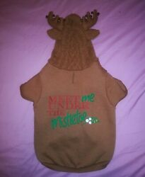Petco Holiday Tails Dog Christmas Hoodie Size L