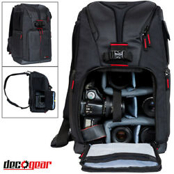 Deco Gear Sling Photo Backpack for Camera Lens amp; Accessories Pro Photography $39.97