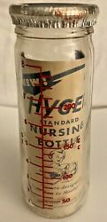 Vintage Hygeia Baby Bottle - 1950's - Rare And Collectible