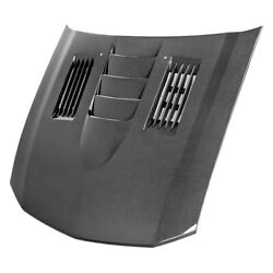 For Ford Mustang 05-09 Anderson Composites Ss-style Gloss Carbon Fiber Hood