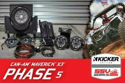 Ssv Works 5 Speaker Plug And Play System For Can-am Maverick X3 / Max 16-18
