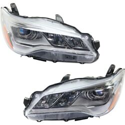 Headlight Lamp Left-and-right To2503223 8111006870 Lh And Rh For Toyota Camry