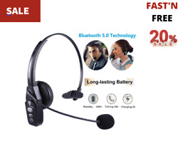 Wireless Headphone Blue Parrot Headset Bluetooth Truck Driver Noise Cancelling