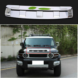 For 2007-2014 Toyota Fj Cruiser Chrome Front Bumper Lower Grill Grille Strip 1x