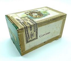 Vintage Bering Coronas 25 Count Cigars 20andcent A Piece Cigar Box