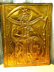Salvador Dali Moses And Monotheism Ltd. Ed. Signed Bas Relief
