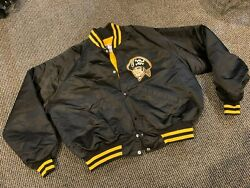 1980's Chuck Tanner 7 Pittsburgh Pirates Game Used Worn Heavyweight Jacket Xl