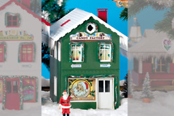 Piko G Scale 62713 North Pole Candy Factory Built-up Building G-scale