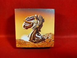2016 Liberty Walking On Mars Ounce Of Space 1oz Silver Coin W/ Martian Meteorite