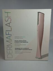 Dermaflash 2.0 Facial Exfoliation And Peach Fuzz Removal As Pic See Des Free Ship
