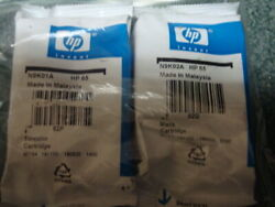 Genuine HP 65 Black Tri Color Combo Expiration UNKNOWN $21.77