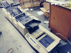 Pitney Bowes F500 Table Top Folder Inserter Sealing Machine - Sold As Is