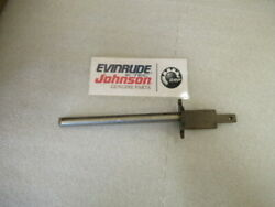B22 Johnson Evinrude Omc 398875 Lever And Shaft Assembly Oem New Factory Boat Part