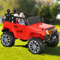 2.4g 4wd Dual Mode Support Two Kids Ride-on Off-road Rc Car Manned Jeep Truck