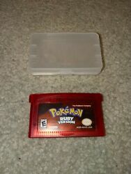 Pokemon: Ruby Version Game Boy Advance 2003 Tested with case reproduction