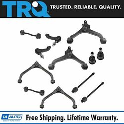 Trq 12 Pc Steering And Suspension Kit Set Front Lh Rh For 02-04 Jeep Liberty New