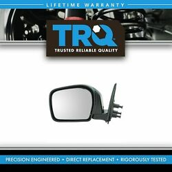 Trq Black Manual Mirror Lh Left For 00 Tacoma Pickup Truck W/ Off Road Package