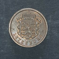 1946 Luxembourg 25 Centimes Nice Coin
