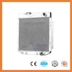 259 Aluminum Radiator For Ford Mustang Comet Falcon V8 63-66 3row At Mt 52mm