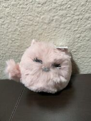 Bath And Body Works Pink Fuzzy Cat Sanitizer Holder. New With Tag
