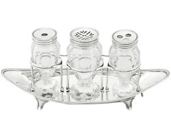 Sterling Silver Ladies Inkstand By Henry Chawner - Antique George Iii