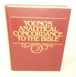 Young's Analytical Concordance To Bible - Hb / Bible Study Students / Vg