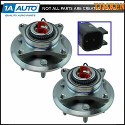 Timken Front Wheel Bearing And Hub Assembly Lh And Rh Pair For Ford Expedition F150
