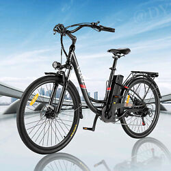 20and039and039 26and039and039 Electric Bike Commute Bicycle Removeable Li-battery Damping City Ebike
