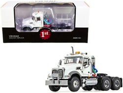 Mack Granite Mp Engine Series Truck Tractor White 1/50 Diecast Model By First Ge