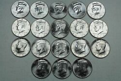 Beautiful Complete Bu Kennedy Half Dollar Collection 2010-2020pandd Mints 22 Coins