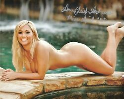 Amy Leigh Andrews 04/2010 Playboy Playmate Sexy Signed Photo In2