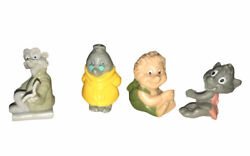 Long John Silvers 1993 Once Upon A Forest Set Of 4