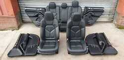 Porsche Cayenne 958 92a Complete Interior Leather Seats With Door Cards