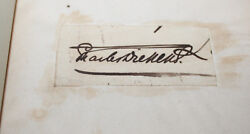 1847 Posthumous Papers Of The Pickwick Club With Authenticated Dickens Signature