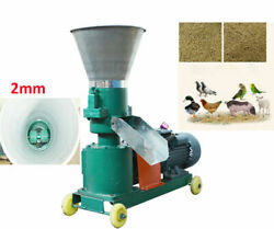 220v Electric Chicken Feed Pellet Mill Machine 2mm Semi-automatic Farming Feeds