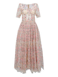 Dolce And Gabbana Special Price Women Dresses Ecru Pink It 40
