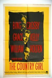 Country Girl Grace Kelly Bing Crosby 1954 William Holden 1sh Usa Movie Poster