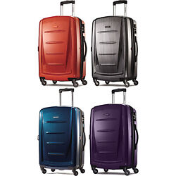 Samsonite Winfield 2 Fashion 24 Inch Hardside Spinner Luggage Suitcase 4 Colors