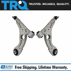 Trq Front Aluminum Lower Control Arm Ball Joint Assembly Lh Rh Pair For Dart 200