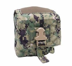 New Eagle Industries Aor2 100-rd 7.62 Linked Ammo Pouch W/ Elastic Top Soflcs