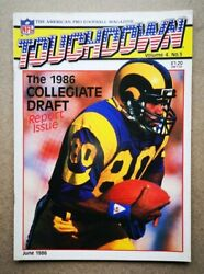 Magazine - Touchdown American Pro Football Contents Index Shown - Various Issues