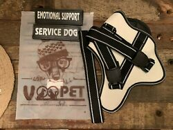 voopet Service Dog Harness No Pull Emotional Support Pet Vest Harness and Pet