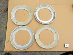 1940and039s 1950and039s Ford Mercury Chevrolet Pontiac Beauty Rings Wheel Trim