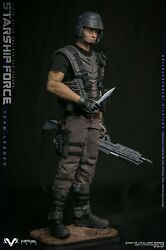 Vts Toys Vm037 1/6 Starship Force-team Leader Collectible Figure Model