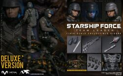 Vts Toys Vm037dx 1/6 Scale Starship Force-team Leader Collectible Figure Deluxe