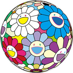 Takashi Murakami Festival Flower Decpration Poster Limited To 300 Courier Ship
